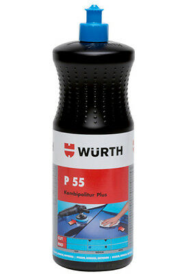 Würth P55 Plus Kombipolitur - Autopolitur - Polierpaste Würth P55 plus 1kg, gebraucht gebraucht kaufen  Neckartailfingen