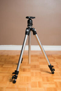 Manfrotto Tripod and Monopod with Induro Ball Head.
