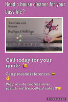 House cleaners for hire - many years experience