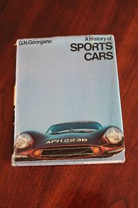 A History of Sports Cars by G.N. Georgano (1970)