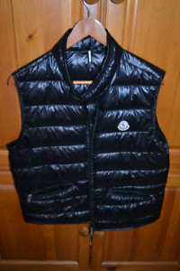 Authentic Moncler Tib Lacquered Down Vest