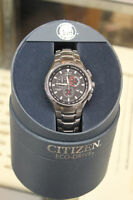 Citizen Eco Drive Chronograph WR100 Tachymeter Men's Watch Winnipeg Manitoba Preview