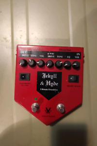 Jekyll & Hyde V1 Overdrive and Distortion Pedal