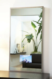 MIRROR with integrated LCD TV