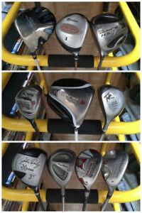 TaylorMade / Callaway / Ping / Nike / Etc Golf Clubs, Bags +++