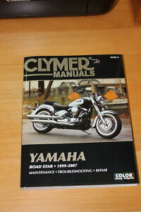 Clymer Road Star 1999-2007 Repair manual