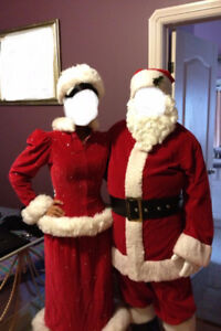 Mrs. Claus Costume Dress (Commercial Quality)