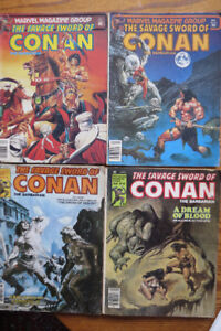 Conan The Barbarian Comic books