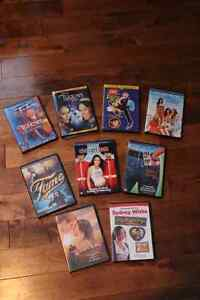 8 DVD'S FOR $10