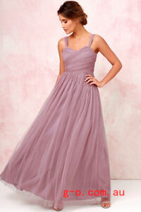 XL Lulus Mauve Bridesmaid Dress BNWT