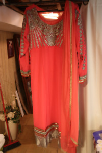 two india dress for sale one only use once the other not for