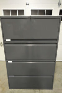 4-Drawer Lateral Metal Filing Cabinet