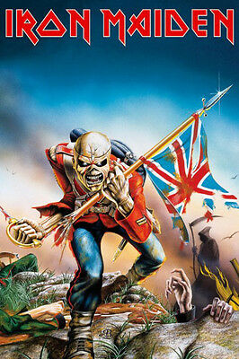Iron Maiden Poster Print 24x36 Rock & Pop Music