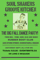 Soul Shakers/Groove Kitchen - The Ultimate Dance Party!