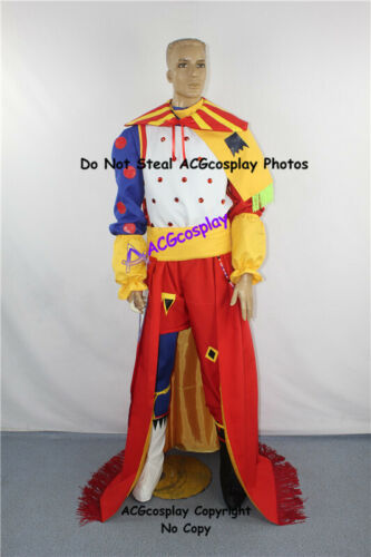 Final Fantasy Dissidia cosplay Kefka Palazzo Cosplay Costume incl boots covers