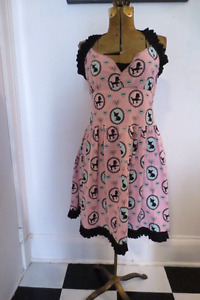 Pink Poodle-Chihuahua Pinup Dress