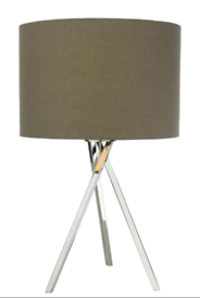 John Lewis & Partners Pair of Tripod Table Lamps | RRP £85 each