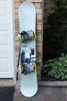 Solomon Snowboard, Bindings and Boots for Sale