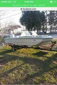 16 ft bow rider for sale / trade
