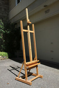 Cappelletto Studio artist's easel and stool