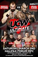 ULTIMATE CHAMPIONSHIP WRESTLING MARCH 2 HALIFAX FORUM