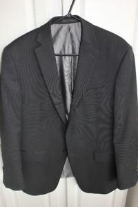 Men's Charcoal Grey Modern Suit Jacket