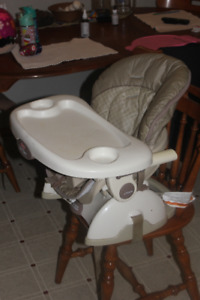 space saver high chair - $25