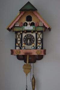 Poppo Quartz Cuckoo Clock made in Japan – Bellow need changing