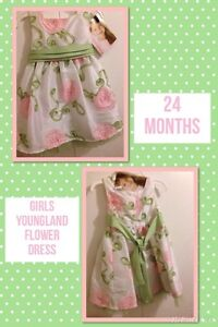 BRAND NEW GIRLS FLOWER DRESS