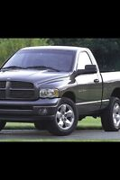 Full size pickup truck for hire