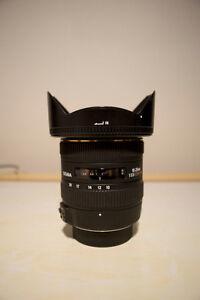 sigma 10-20mm f/3.5 ex dc hsm - nikon fit