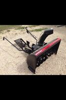 Tractor Mount Snow Blower