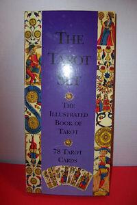 Medival Art Tarot Deck Set with Detailed Instruction Book