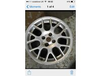 "4x 16"" bbs style 4x100 pcd mg zr alloys wheels fit rover mg and others"