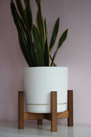 Mid Century Case Study Teak Stand With Planter