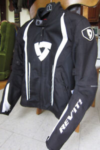 Rev'it Airforce Motorcycle Jacket, Mens Size L