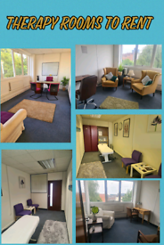 Therapy Rooms to Rent in Leicester City Centre.