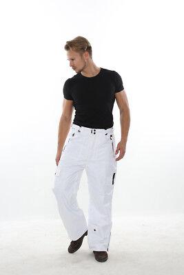L Mens Ski / Snowboard Pants PERYSHER PERFORMANCE [Stylish White] Best