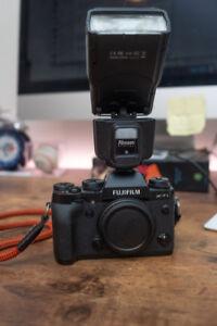 Camera, Flashes, Triggers, Lens, Storage (Fuji, Nikon, Drobo)