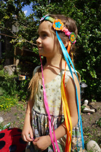 Floral headdresses, one size fits most