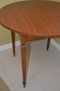 Solid wood side table (or small dining table)