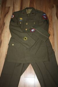 uniforme militaire us army 1943