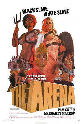 1974 THE ARENA VINTAGE ACTION MOVIE POSTER PRINT 36x24 9MIL