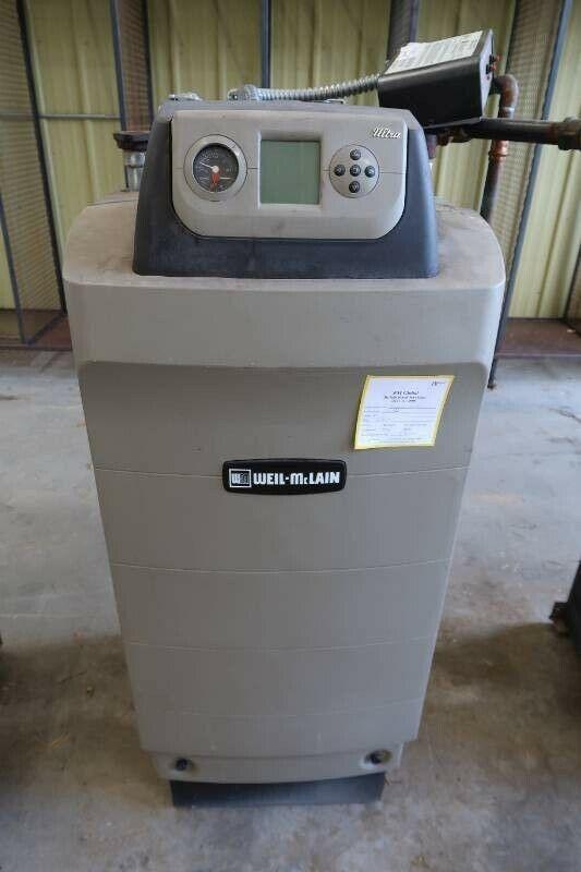 Weil McLain Ultra 310 Natural Gas BoilerSeries 3