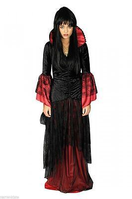 Spider Queen Hexe Hexen Kostüm Kleid Witch Barock Vampir Vampirkostüm Halloween