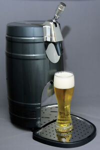 Koolatron 5-Liter Thermoelectric Beer Keg Chiller with Tap