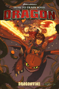 Wanted: How to train your dragon graphic novel (comic)