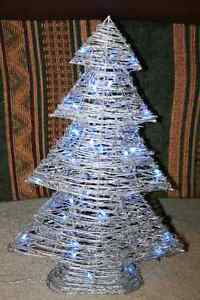 Silver Grapevine Tree- Indoor/Outdoor- Christmas NEW PRICE
