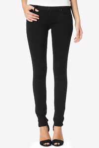 "HUDSON High Rise ""CARLY"" STRAIGHT LEG JEANS Black Ice, Size 26 London Ontario image 1"