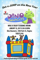 WRGC is getting JUMP on the New Year with Dino Bouncers